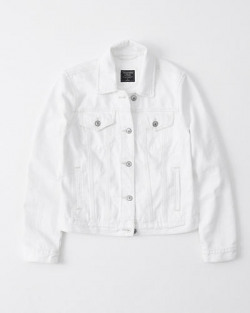 White Denim Jacket | Tuggl