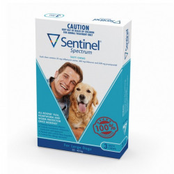 Sentinel Spectrum For Large Dogs 22-45kg | Tuggl