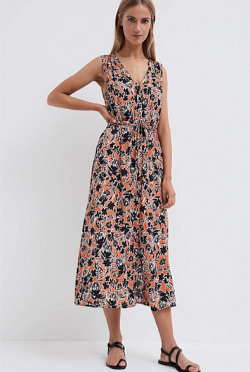 Print Maxi Shirt Dress | Tuggl